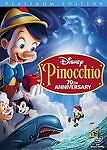 Pinocchio (DVD, 2009, 2-Disc Set, 70th Anniversary Platinum Edition) B20