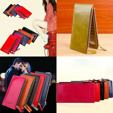 Women Wallets  Clutch Money Bag Hasp Fashion Leather Long Ladies Purse Coins