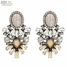 Wholesale good quality big crystal earring  New statement fashion stud Earrings