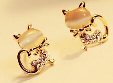 New Fashion Zinc Alloy Trendy Gold Plated Earrings For Women And Girls