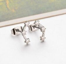 Design Zinc Alloy Fashion Stylish Gold And Silver Color Earrings For Girls