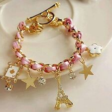 New Fashion Rope Chain Decorated Multi-color Bracelet for Girl Women