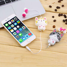 1pc Cartoon Retractable In-Ear Earbud Earphones For Mobile Phone Computer SW