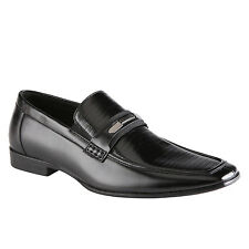 CALL IT SPRING DUPATY BLACK MENS DRESS SHOES MSRP$70 LEATHER MULTIPLE SIZES NEW