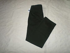 GAP CHINO LIVED-IN STRAIGHT PANTS MENS SIZE 30X30 ZIP FLY DARK OLIVE NEW NWT