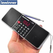 Mini Portable Rechargeable Stereo L-288 FM Radio Speaker LCD Screen Support TF C