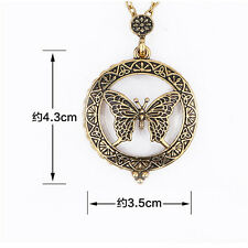 Pendant 5 Times magnified Vintage Magnifying Glass Necklace 7 Styles 1Pcs