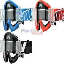 100% Strata SVS Goggles Off Road CE Approved
