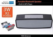 Portable Bluetooth Stereo Handsfree Wireless Speaker Fit Smart Phone Tablet
