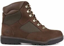 JUNIOR TIMBERLAND 44992  6'' IN INCHES FIELD BOOT BROWN NEW IN BOX GRADE SCHOOL