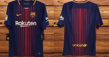 FC Barcelona Official Nike Home Soccer Football Jersey 2017-18 Messi Neymar