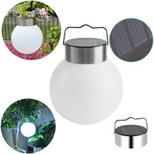 1/10x Outdoor Solar Power LED Hanging Light Ball Pool Path Landscape Garden Lamp