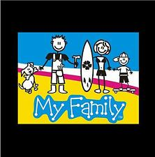 The Sticker Family - My Family - Car Stickers / Decals - Various Designs - New
