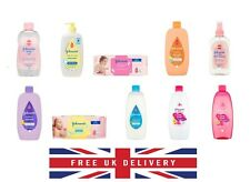 Johnsons Baby Oil Shampoo Conditioner 500 ml  200ml Wipes Bathtime Various UK
