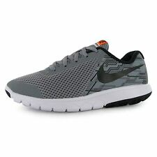 Nike Flex Experience 5 Print Trainers Junior Boys Grey/Blk Sports Shoes Sneakers