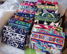 NWT Vera Bradley Euro Wallet great backpack companion in pattern choice/freeship