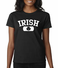 New Way 135 - Women's T-Shirt Irish Clover St Patricks Day Ireland