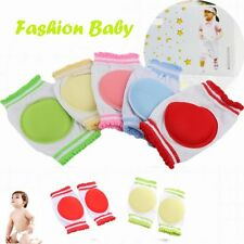 1 Pair Learn To Walk Cozy Cotton Kids Knee Pad Baby Crawling Sponge Breathable