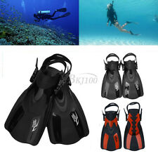 Dive Fins Flippers Full Foot Shoes Scuba Diving Swimming Snorkeling 90 °Bend