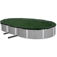 Blue Wave Silver 12-Year 15' x 30' Oval Above-Ground Pool Winter Cover