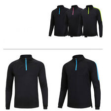 Men's Gym Sports Soccer Football Apparel Track Training Top Cloth Jacket Jersey