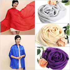 Luxury Silky Shawl Silk Scarf Pashmina for Weddings Bridal Wrap Stole Scarves