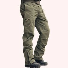 101 Airborne Jeans Casual Plus Size Cotton Breathable Multi Pocket Military Army