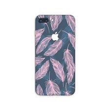 iPhone 8 7 Plus Skin STICKER 10 Decal 6 Plus 6s 5 SE Case X Pink Feather PS035