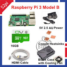 2016 New Arrival Raspberry Pi 3 Model B Starter Kit with 5V 2.5A Power Supply