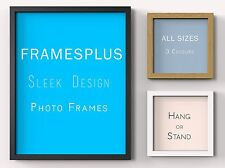 Photo Frame Picture Poster Certificate Frames Wood Black White Oak A1 A2 A3 A4