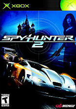 SpyHunter 2 (Microsoft Xbox, 2003) - Complete with Game, Case, and Manual!