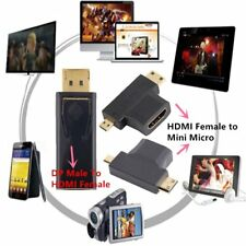 New Display Port DP Male To HDMI Female Adapter Converter Adaptor for HDTV SO