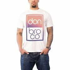 Don Broco T Shirt band logo Gradient Automatic new Official Mens White