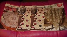 Crochet Patterns Books - Afghans,Throws & Doilies - U-PICK 1 FROM 3