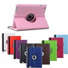 Luxury 360 Rotating Leather Smart Case Stand Magnetic Cover for Apple iPad Mini