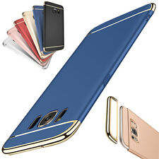 Luxury Electroplating 3 in 1 Stylish Phone Case Cover For  iPhone Samsung HuaWei