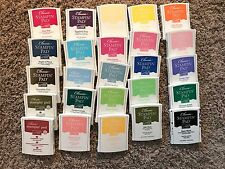 Stampin Up Classic Ink Pads-Rich Regals, Bold Brights, Soft Subtles, Earth Eleme