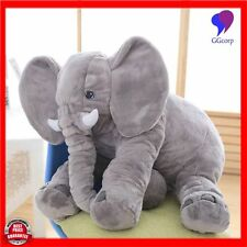 Large Long Nose Elephant Sleep Pillow Baby Plush Toy Lumbar Cushion Doll 65cm