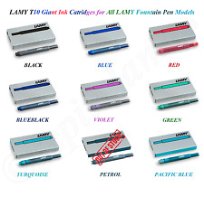 Lamy T10 Ink Cartridges for All Lamy Fountain Pen Models - 9 Colors Available