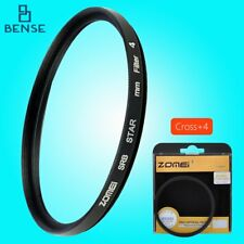 ZOMEI Star Light Flare Cross Filter 4 + 6 + 8 Point Effects Filters 82 mm