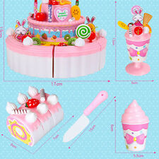 Layer Birthday Cake Kitchen Toy Girl Birthday 1 PC Cheerful Double Gift Child
