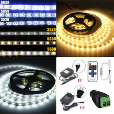 5-20M Warm White LED 3528/5050/5630 SMD Starry String Decer Lights+Remote+Power