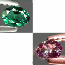 0.14Cts INCREDIBLE Gem - Amazing Natural Green 2 Purple Color Change ALEXANDRITE