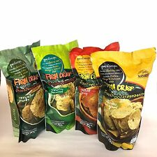Krupuk Ikan Fish Chips Crackers Nasreen Thai Snack 70g Delicious Thailand  1 pc