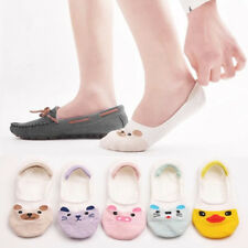 10 Pairs Womens Loafer Invisible No Show Nonslip Liner Low Cut Boat Cotton Socks
