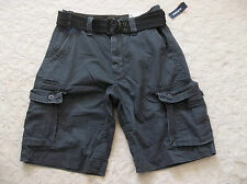 OLD NAVY CARGO SHORTS MENS WITH BELT SIZE 29 ZIP FLY CLASSIC STRAIGHT NEW NWT