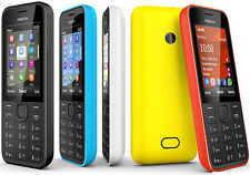 2080 Unlocked Nokia 208 1.3MP Camera 3G 2G GSM / HSPA Bluetooth FM radio