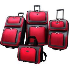 U.S. Traveler New Yorker 4 Piece Luggage Set