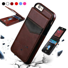 Wallet Card Slot Holder Flip Stand Back Cover Case For iPhone 6S 7 Plus Useful