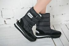 Women Black Color New Arrival Winter Style Waterproof Round Toe Boots